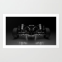PW - SPDR, Twin-Turbo Venomancer V8 Art Print