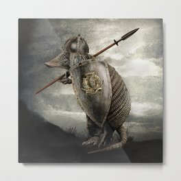 Armadillo by Eric Fan & Viviana González Metal Print