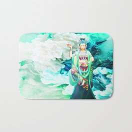 The Goddess of Mercy Bath Mat