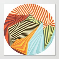circles Canvas Prints featuring Yaipei by Anai Greog