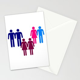LGBT Couples Stationery Cards