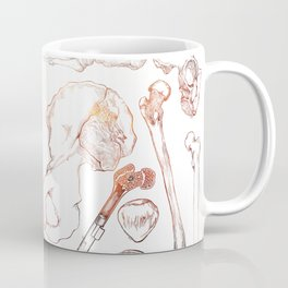 Lower Extremity Skeleton Coffee Mug