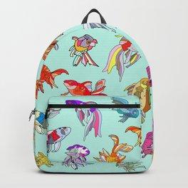 Aquarium Gold Fish Water Backpack