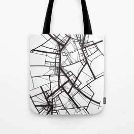 Suspension (Fractal Scaffold series #2) Tote Bag