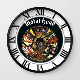 best motorhead logo Wall Clock