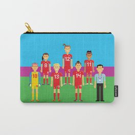 Pixel Players Canada Carry-All Pouch