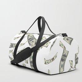 Money,dollars,prosperity pattern Duffle Bag