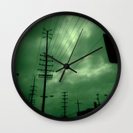 Urban Lines Wall Clock
