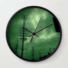 Urban Lines Wall Clock
