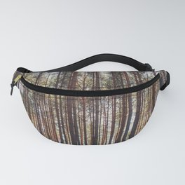 trees in forest photo, tree landscape photography Fanny Pack