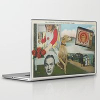 postcard Laptop & iPad Skins featuring Postcard #19 by Jon Duci