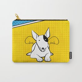 Awesome Bull Terrier Carry-All Pouch