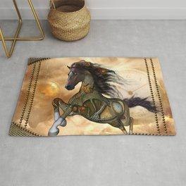 Steampunk, awesome steampunk horse Rug