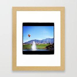 Morning gift Framed Art Print