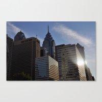 philadelphia Canvas Prints featuring Philadelphia by Jérémy Boes