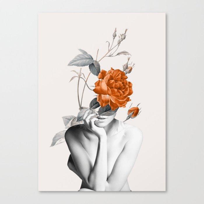 Rose 3 Leinwanddruck