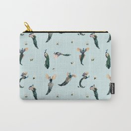 Preening Peacocks Carry-All Pouch