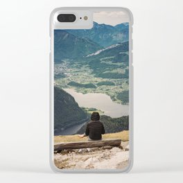 View of the valley Clear iPhone Case