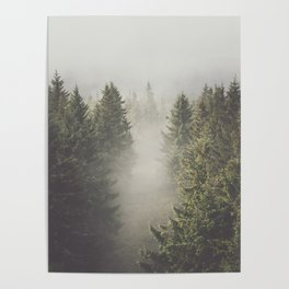 My misty way - Landscape and Nature Photography Poster