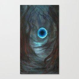 A Rift Between Canvas Print