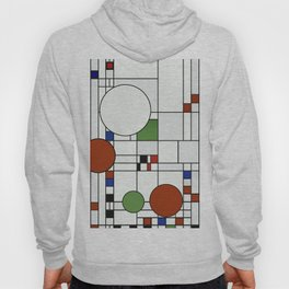 Abstract Composition 425 Hoody