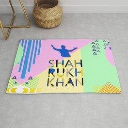 Shahrukh Khan Art Rug