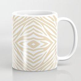 Ivory Neutral Zebra Coffee Mug