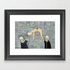 Colación Framed Art Print