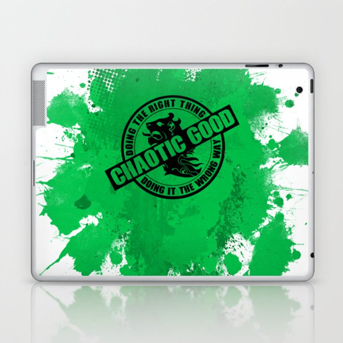 Chaotic Good RPG Game Alignment Laptop & iPad Skin