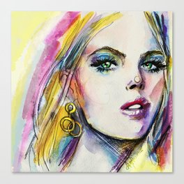 Summertime sadness Canvas Print