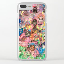 We Are All Aliens Clear iPhone Case
