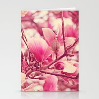 magnolia Stationery Cards featuring magnolia  by Beverly LeFevre