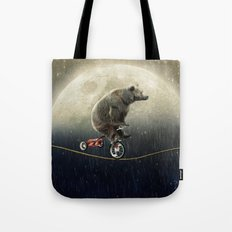 balancing act (under the weather) Tote Bag