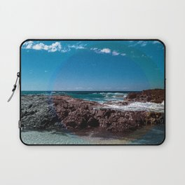 a Day at the Beach 1  Laptop Sleeve
