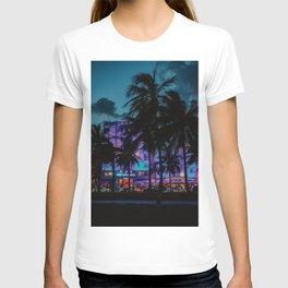 Miami By Night   Fine Art Travel Photography T-shirt