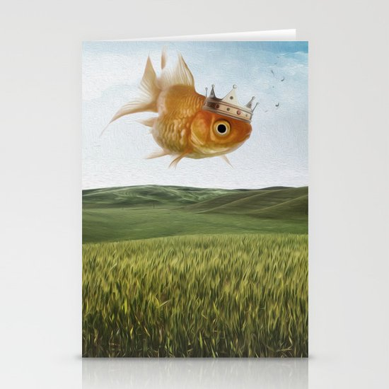 king fish Stationery Cards