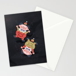 Tweedledee and Tweedledum - Alice in Wonderland Stationery Cards