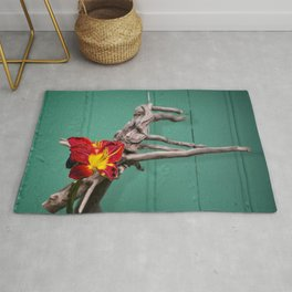 Country Lily Rug