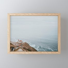 Point Reyes Lighthouse / California Framed Mini Art Print