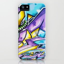 Graffiti Rotation iPhone Case