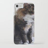 nemo iPhone & iPod Cases featuring Nemo Kitty by Upstanding Delinquent