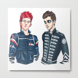 My Chemical Pilots Metal Print