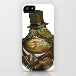 Sir Jabba the Hutt iPhone Case