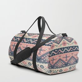 -A23- Epic Anthropologie Traditional Moroccan Artwork. Duffle Bag