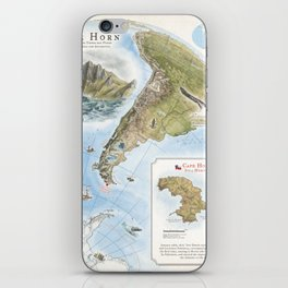 Cape Horn - Exploration AD 1616 iPhone Skin