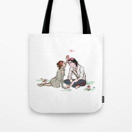 Ben Solo in Love Tote Bag