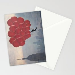 Floating over the City Stationery Cards
