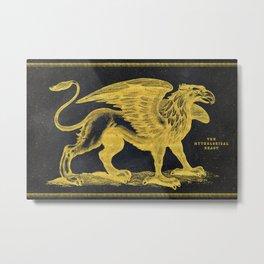 The Mythological Beast Metal Print