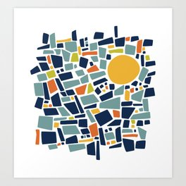 sunshine Study #3 Art Print