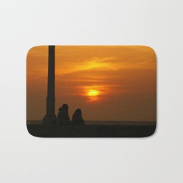 Romancing the Sunset Bath Mat
